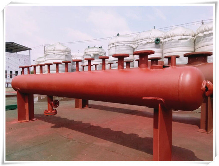 Large Steel Water Storage Tanks , Stainless Steel Rainwater / Cold Water Storage Tanks